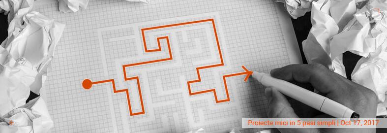 Proiecte mici in 5 pasi simpli