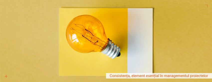 Consistenta, element esential in managementul proiectelor