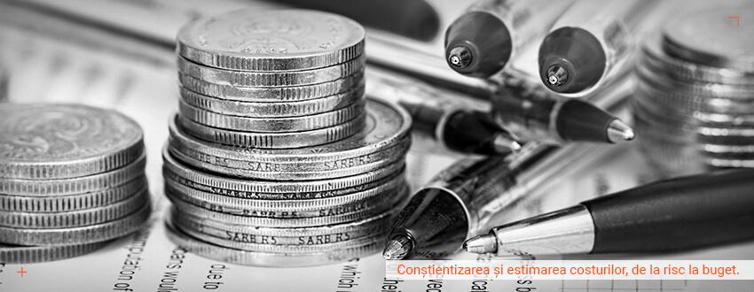 Constientizarea si estimarea costurilor, de la risc la buget.
