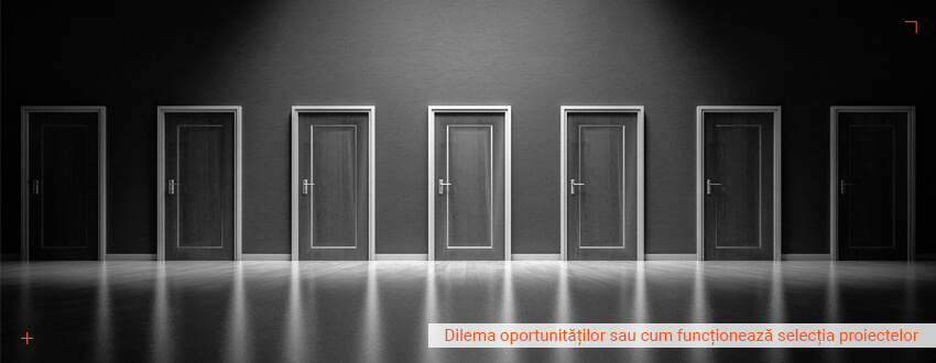 Dilema oportunitatilor sau cum functioneaza selectia proiectelor