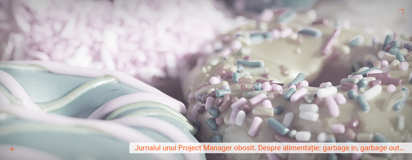 Jurnalul unui project manager obosit. Despre alimentatie: Garbage in, garbage out…