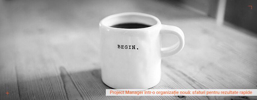 Project Manager intr-o organizatie noua: Sfaturi pentru rezultate rapide
